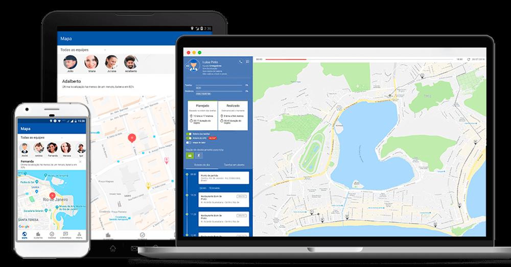 Street, Software para gestão de equipe externa